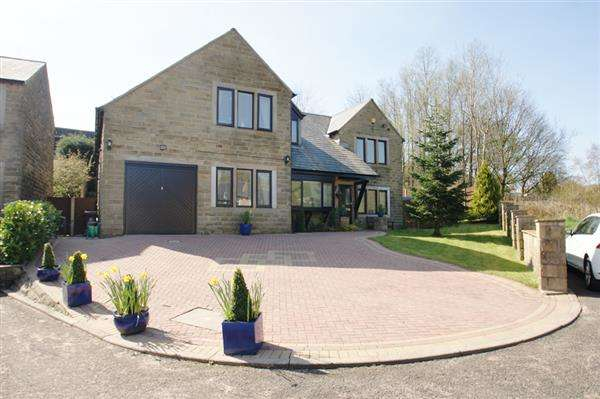 5 Bedrooms Detached House for sale in Ammons Way, Delph