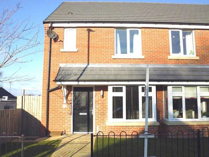 2 Bedrooms Semi Detached House for sale in Sail Lodge, Quarry Road, Bolsover