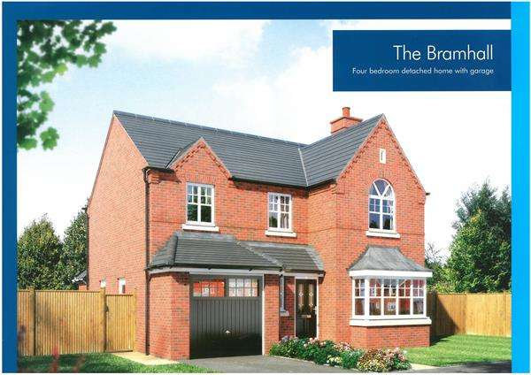 4 Bedrooms Detached House for sale in Over Fair Close, Winsford
