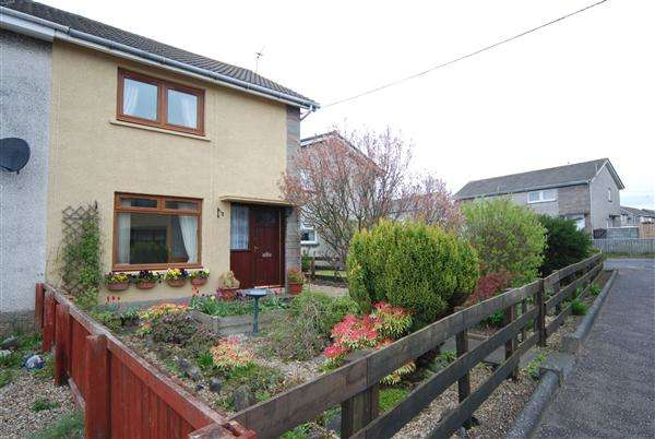 2 Bedrooms Semi Detached House for sale in Ailsa Road, Saltcoats