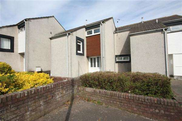 2 Bedrooms Terraced House for sale in Kincaidston Drive, Ayr