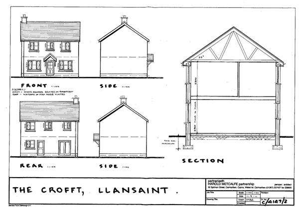 Land Commercial for sale in Y Croft, South Carmarthenshire, Llansaint