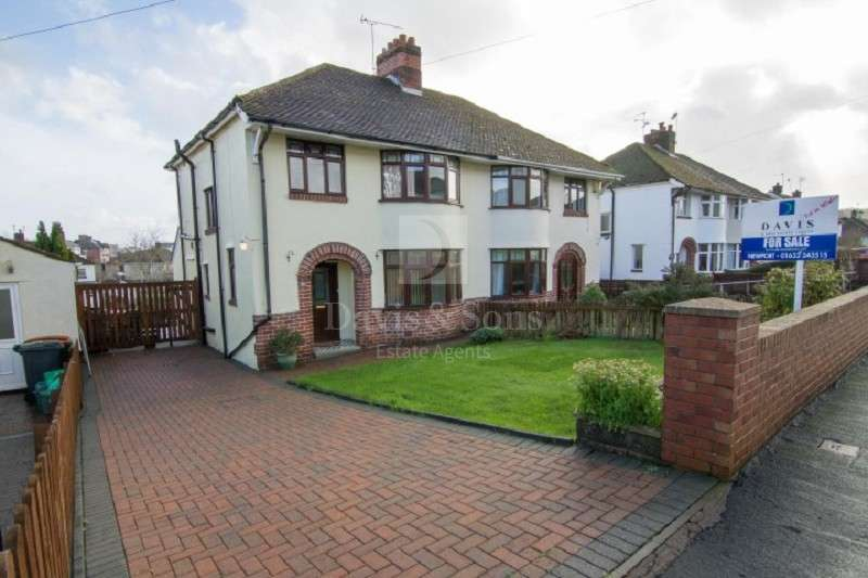 3 Bedrooms Semi Detached House for sale in Blaen Y Pant Avenue, Off Malpas Road, Newport. NP20 5PU