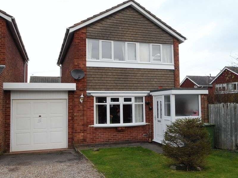 3 Bedrooms Detached House for sale in Skye Close, Nuneaton