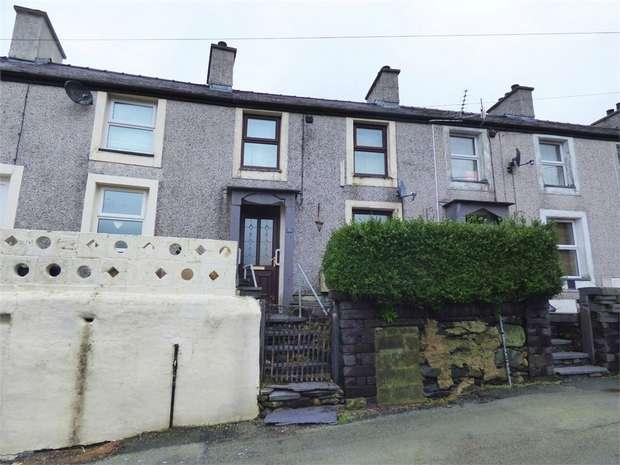 3 Bedrooms Terraced House for sale in Cefnfaes Street, Carneddi, Bethesda, Bangor, Gwynedd