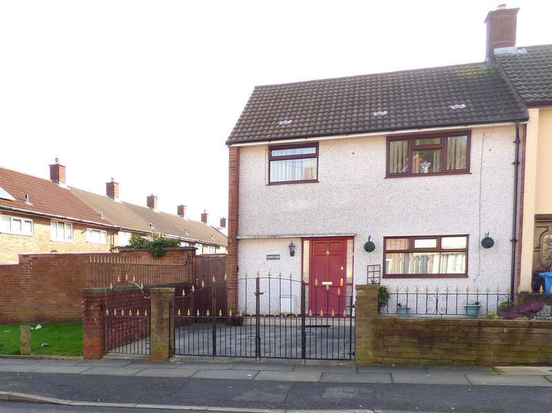 3 Bedrooms Terraced House for sale in Sandiway, Huyton, Liverpool