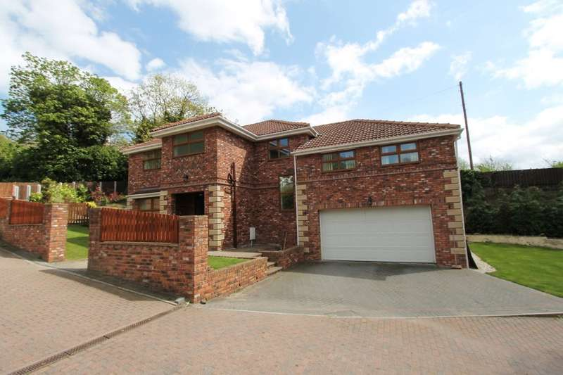 5 Bedrooms Detached House for sale in Parkside Mews, Worsbrough Bridge, Barnsley, S70 5DN