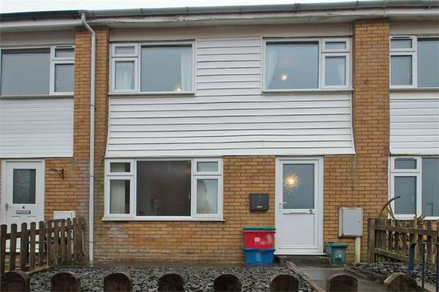 3 Bedrooms Terraced House for sale in Noyadd Close, Llandrindod Wells, Powys