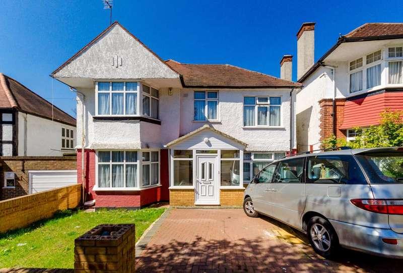 5 Bedrooms Detached House for sale in Corringham Road, Wembley, HA9
