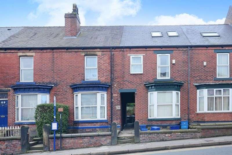 4 Bedrooms Terraced House for rent in Barber Road, Crookesmoor, Sheffield, S10 1EA