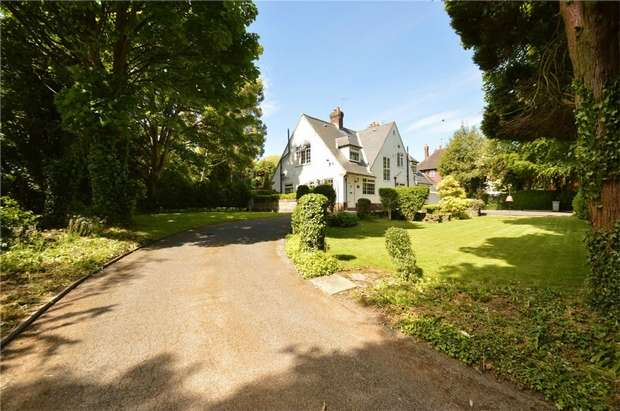 4 Bedrooms Detached House for sale in Prestbury Road, Prestbury, Cheshire