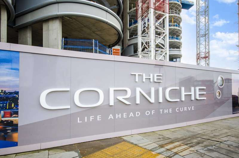 3 Bedrooms Flat for sale in The Corniche, Kennington, SE1