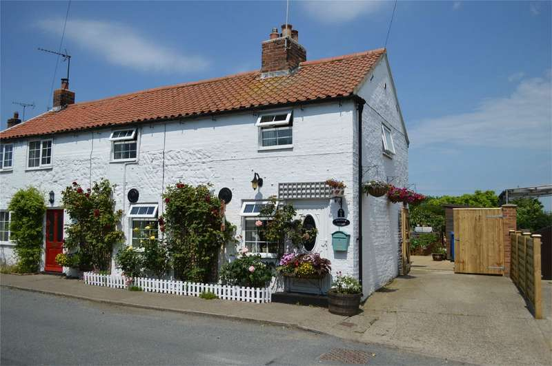 3 Bedrooms Cottage House for sale in 1 Shamrock Cottage, Catfoss Road, Bewholme, East Riding of Yorkshire