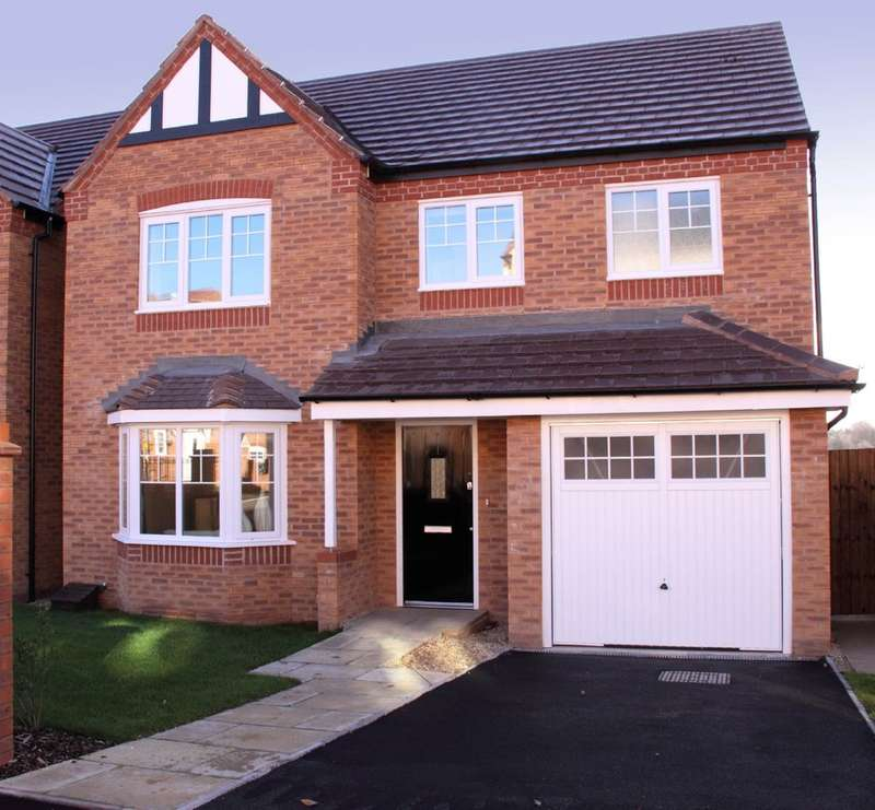 4 Bedrooms Detached House for sale in Penmire Rise, Spon Lane, Grendon, CV9 2EX