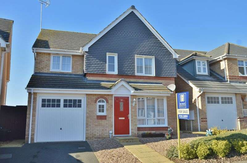 4 Bedrooms Detached House for sale in Haydock Close, Oakley Vale, Corby