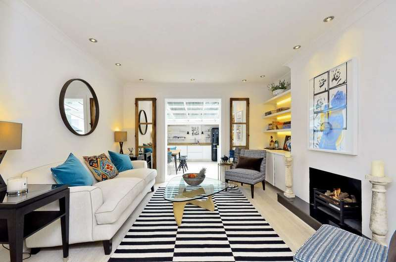 2 Bedrooms Flat for sale in Gunter Grove, Chelsea, SW10