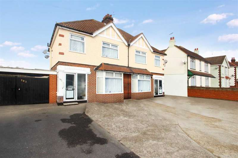 3 Bedrooms Semi Detached House for sale in Ipswich Road, Colchester