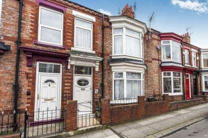 3 Bedrooms Terraced House for sale in Clifton Road, Darlington, Durham, Darlington