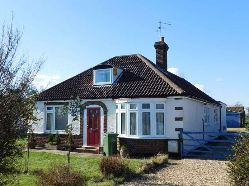 3 Bedrooms Detached Bungalow for sale in Lincoln Road, Northborough