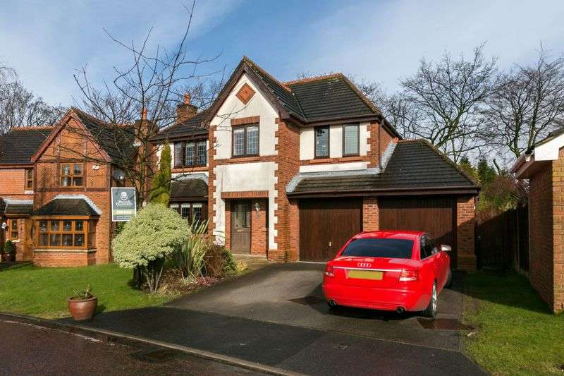 4 Bedrooms Detached House for sale in Dexter Way, Upholland, WN8 0DY
