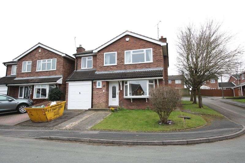 4 Bedrooms Detached House for sale in Palmer Close, Stafford