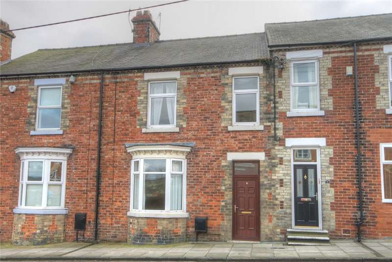 3 Bedrooms Terraced House for sale in Helmington Square, Hunwick, Crook, DL15