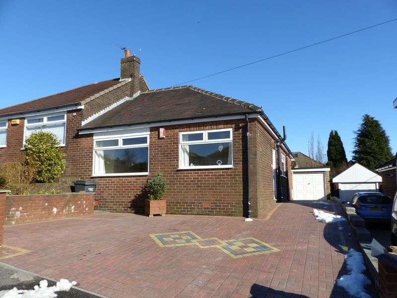 3 Bedrooms Semi Detached Bungalow for sale in Surrey Avenue, High Crompton