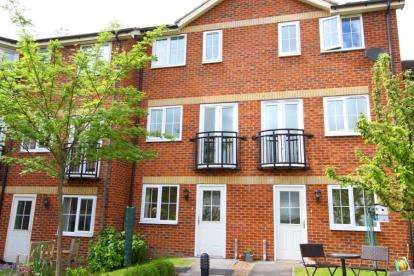 3 Bedrooms Town House for sale in Royal Oak Court, Bolsover Road, Mastin Moor, Chesterfield