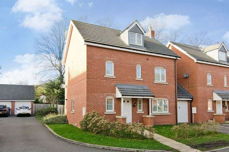 4 Bedrooms Detached House for sale in Church Street, Burntwood