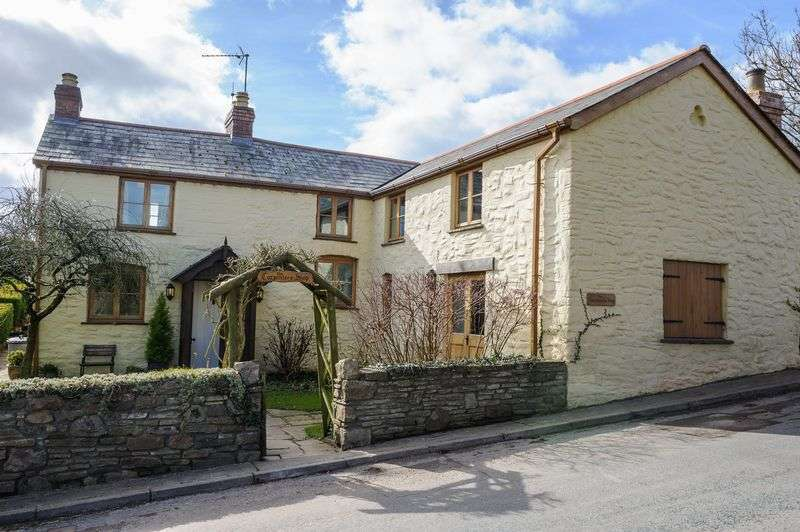4 Bedrooms Detached House for sale in Llanvapley, Abergavenny