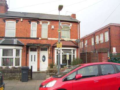 3 Bedrooms End Of Terrace House for sale in Bamville Road, Birmingham, West Midlands