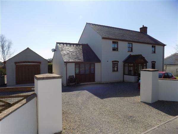 4 Bedrooms Detached House for sale in Lower Ground House, Targate Road, Freystop