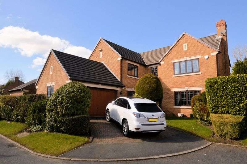 4 Bedrooms Detached House for sale in Steynton Close, Heaton, Bolton SIZABLE DETACHED, LARGE PLOT, 2 EN SUITES