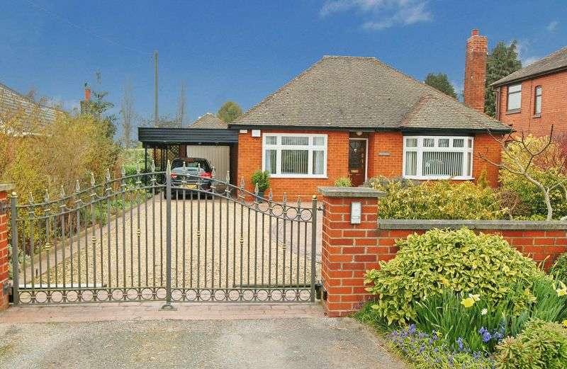 2 Bedrooms Detached Bungalow for sale in Newcastle Road, Chorlton