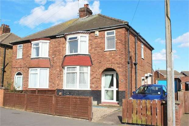 3 Bedrooms Semi Detached House for sale in Kenilworth Road, Scunthorpe, Lincolnshire