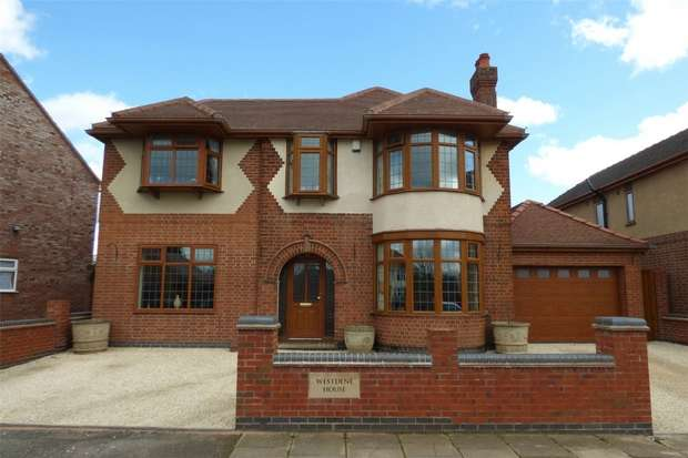 5 Bedrooms Detached House for sale in Brading Road, Weddington, Nuneaton, Warwickshire
