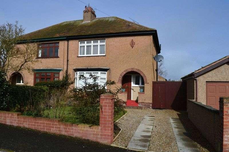 3 Bedrooms Semi Detached House for sale in 4 Windsor Crescent, Berwick-Upon-Tweed