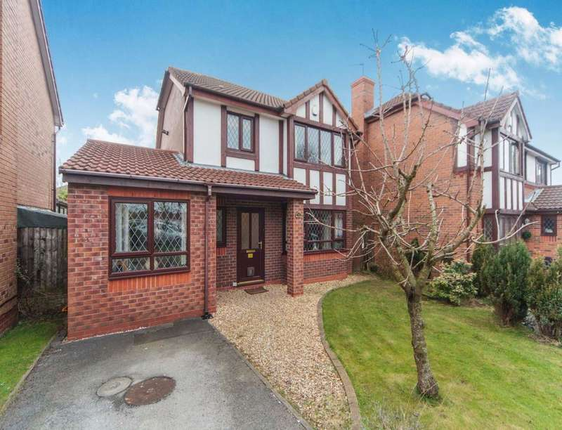 3 Bedrooms Detached House for sale in Grovewood Gardens, Whiston, Prescot, L35