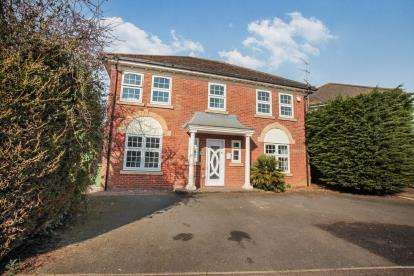 4 Bedrooms Detached House for sale in Hayton Close, Luton, Bedfordshire, Barton Hills