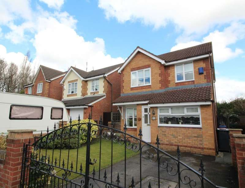 3 Bedrooms Detached House for sale in Green Gates, Liverpool, L36