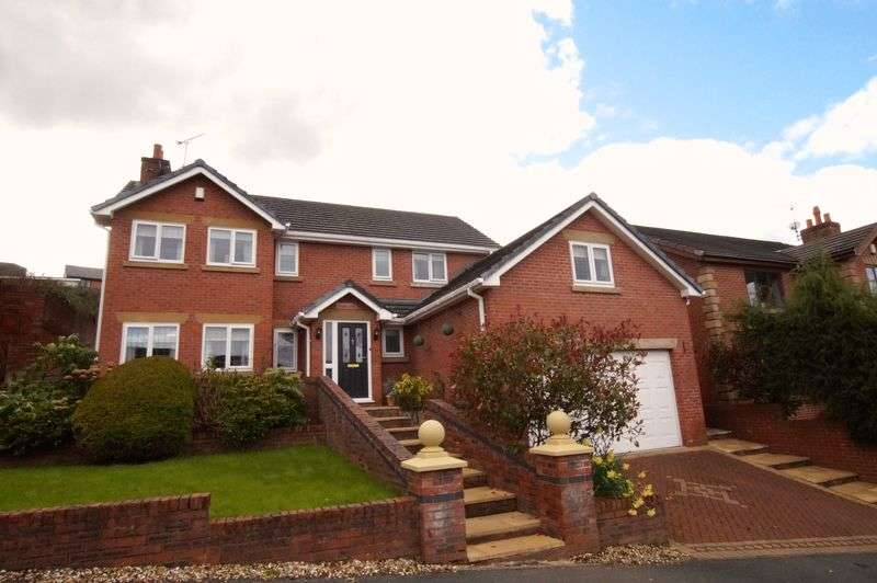 5 Bedrooms Detached House for sale in Oak Alyn Court, Cefn y Bedd, Wrexham