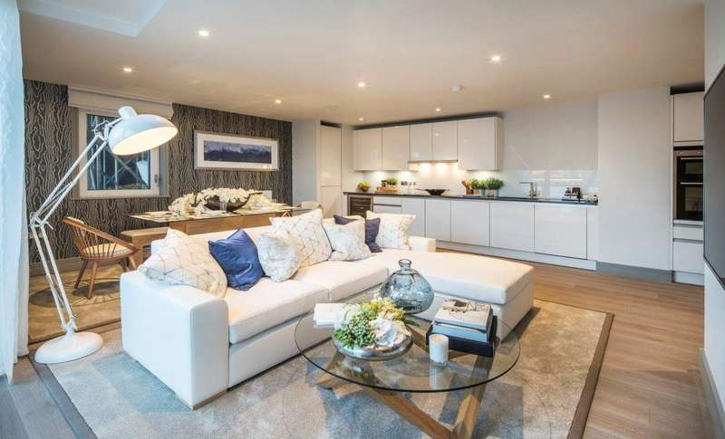 1 Bedroom Flat for sale in Calico House West, Plantation Wharf, SW11