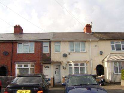 3 Bedrooms Terraced House for sale in Fernbank Road, Birmingham, West Midlands