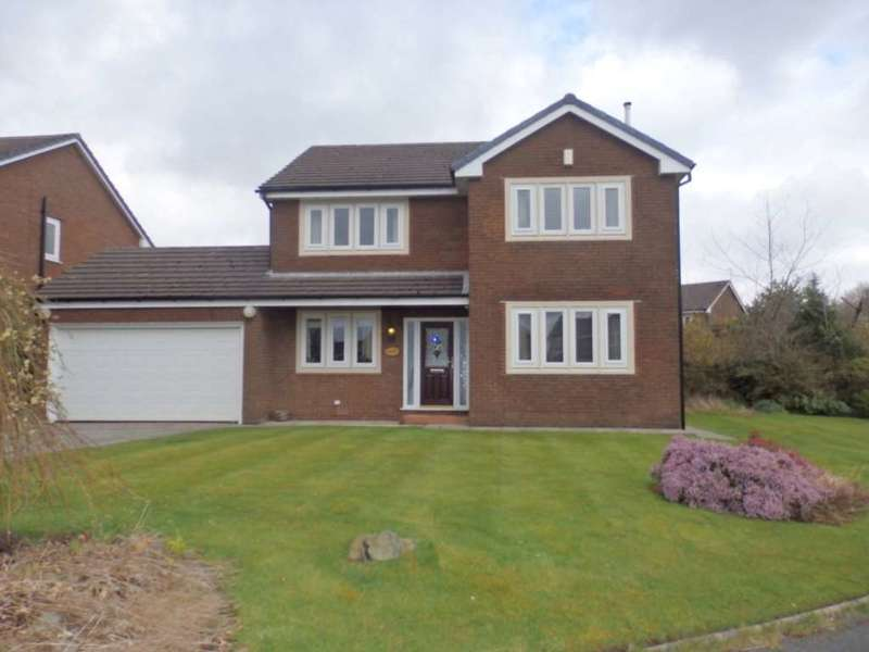 4 Bedrooms Detached House for sale in Clough Meadow, Lostock