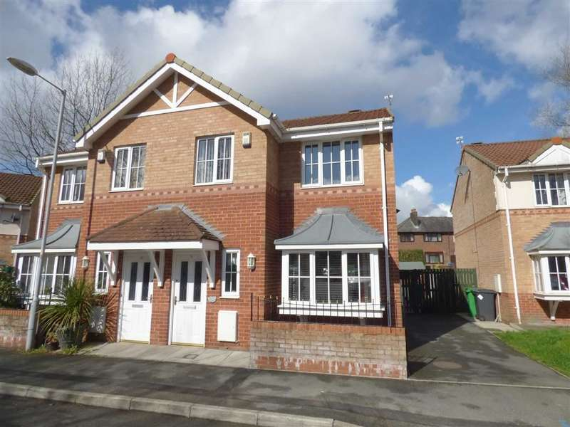 3 Bedrooms Property for sale in The Coppice, Off Belthorne Avenue, Manchester, M9