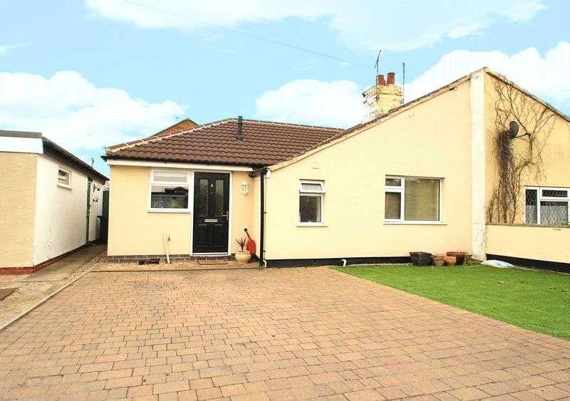 2 Bedrooms Semi Detached Bungalow for sale in Watchcrete Avenue, Queniborough, Leicestershire