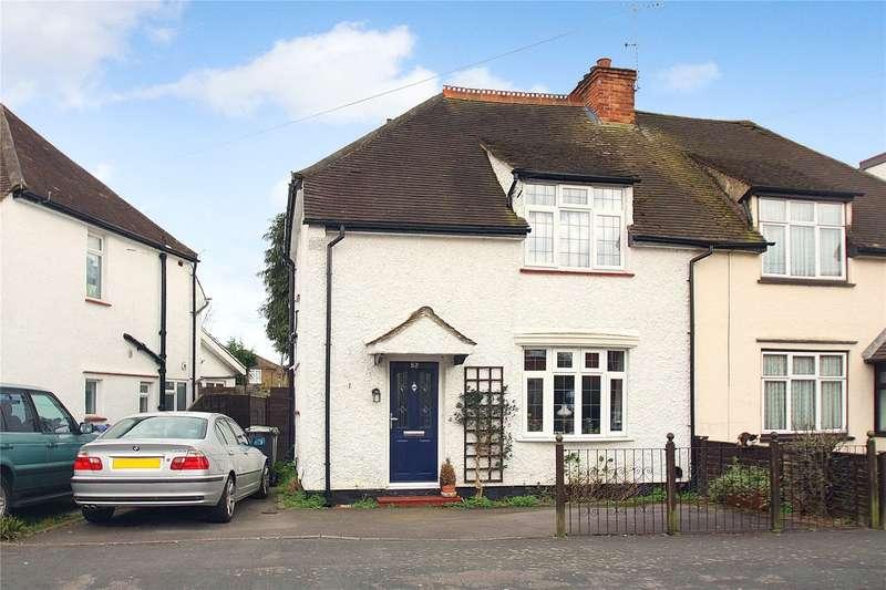 3 Bedrooms Semi Detached House for sale in Highclere Road, Knaphill, Woking, Surrey, GU21