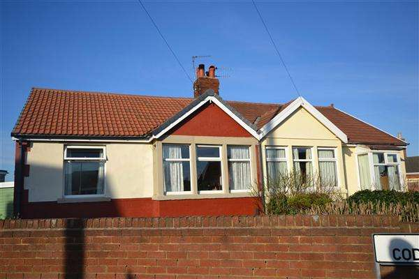 2 Bedrooms Semi Detached Bungalow for sale in Codale Ave, Blackpool