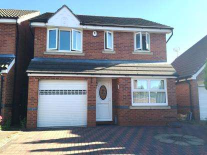 3 Bedrooms Detached House for sale in Celandine Road, Hamilton, Leicester, Leicestershire