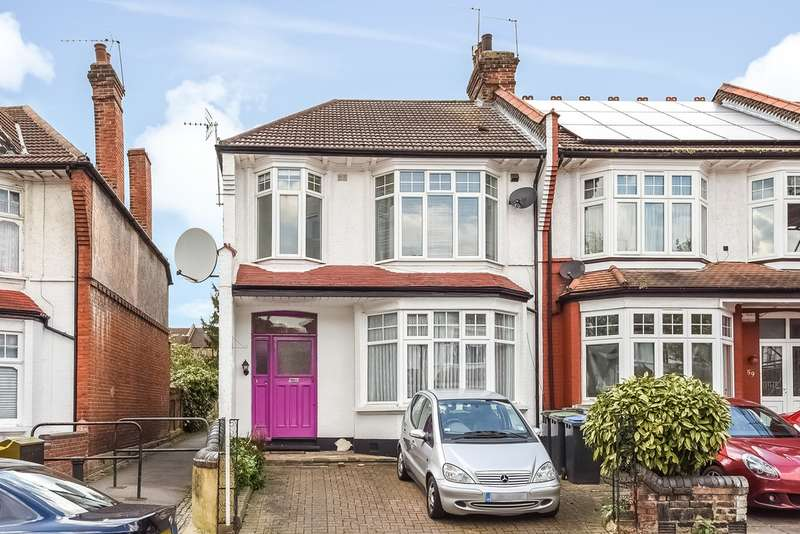 2 Bedrooms Flat for sale in Caversham Avenue, Palmers Green